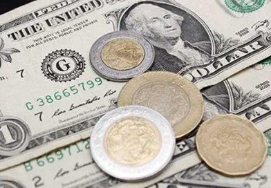Se recupera el peso 0.35% ente el dólar