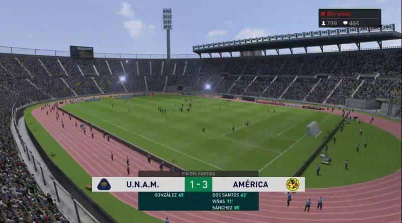 América gana a Pumas en Clásico Capitalino virtual