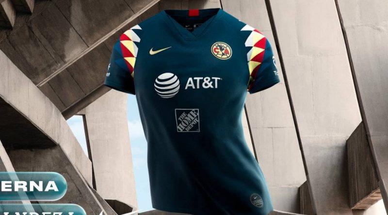 Presenta América su nuevo jersey de visitante