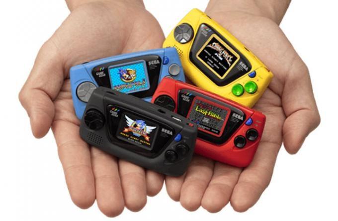 Sega lanza Game Gear Micro
