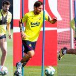 Messi y Suárez regresan a entrenar