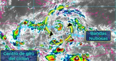 'Eta' causara lluvias en el sureste del país