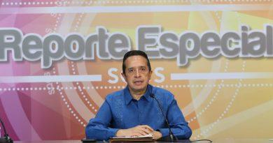 """Gobernador Carlos Joaquín informa la trayectoria del huracán """"Eta"""""""